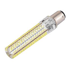 billige Kornpærer med LED-ywxlight® dimbar ba15d 10w 900lm 136led 5730smd varm hvit, kald, hvit, silikon ledd maislys AC 110-130v AC 220-240v