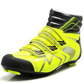 levne Větší obuv-Pánské Komfortní boty Personalizované materiály / PVC Podzim / Zima Atletické boty Cyklistika Kotníčkové Zelená / Sportovní