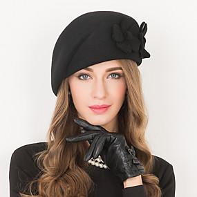povoljno Melbourne Cup Carnival Hats-Vuna Kentucky Derby Hat / kape s 1 Vjenčanje / Special Occasion / Kauzalni Glava
