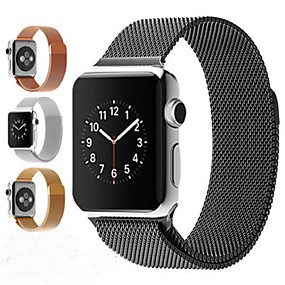 cheap Smartwatch Accessories-Milanese Loop Bracelet Stainless Steel Magnetic   band For Apple Watch series 5/4/3/2/1  Bracelet strap for iwatch series 5 iwatch series 4   44mm 42mm  40mm 38mm