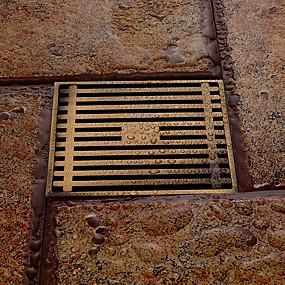 preiswerte Renovierung-Wasserhahn Zubehör - Gehobene Qualität - Moderne Messing Bodenablauf - Fertig - Antikes Messing