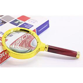 preiswerte Lupen-Lupen Generisches Magnification 10X 90mm Metal