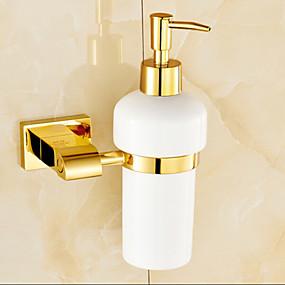 cheap Soap Dispensers-Soap Dispenser Contemporary Brass 1pc - Bathroom