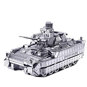 preiswerte 3D-Puzzles-Spielzeug-Autos 3D - Puzzle Holzpuzzle Metallpuzzle Holzmodelle 2 pcs Panzer Streitwagen Kreativ Cool Neuartige Heimwerken Einrichtungsartikel Klassisch & Zeitlos Spezialmodell Neuankömmling Jungen