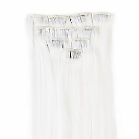 preiswerte Neitsi®-Neitsi Glatt Klassisch Synthetische Haare 18 Zoll Haar-Verlängerung Mit Clip Damen Alltag
