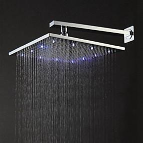 povoljno Tuš glave-Suvremena Tuš s kišnim mlazom Brushed svojstvo - Tuš s kišnim mlazom LED, Tuš Head