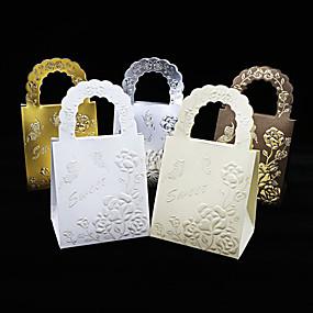 preiswerte Big Heard Love®-Kreisförmig / Quadratisch / Quader Kartonpapier Geschenke Halter mit Print Geschenkboxen