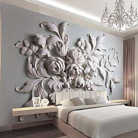 cheap Valentine's Day-Mural Canvas Wall Covering - Adhesive required 3D