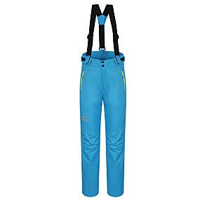 cheap Camping, Hiking & Backpacking-Women's Hiking Pants Convertible Pants / Zip Off Pants Winter Outdoor Thermal / Warm Waterproof Windproof Fleece Lining Pants / Trousers Bib Pants Bottoms Camping / Hiking Hunting Ski / Snowboard