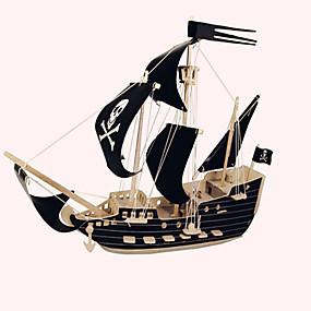 preiswerte Be a Viking!-Holzpuzzle Holzmodelle Schiff Piraten Piratenschiff Seeräuber Profi Level Hölzern 1 pcs Kinder Erwachsene Jungen Mädchen Spielzeuge Geschenk