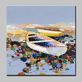 preiswerte Pop Art Ölgemälde-Handgemalte Abstrakte Landschaft POP Ölgemälde,Modern Europäischer Stil Ein Panel Leinwand Hang-Ölgemälde For Haus Dekoration