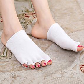 preiswerte Schuh Cover-Rasche Trocknung Schuh Abdeckungen Gel Vorfuß Ganzjährig Unisex Beige