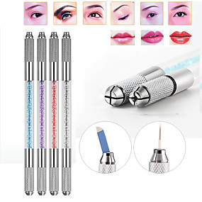 cheap Permanent Makeup Machines-double-heads-microblading-pen-tattoo-machine-for-permanent-makeup-eyebrow-tattoo-manual-pen-needle-blade-cosmetic-both-crystal
