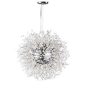 povoljno Lámpatestek-sputnjik Lusteri Ambient Light Chrome Metal Crystal 110-120V / 220-240V Meleg fehér / Bijela Bulb Included / G9