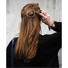 Χαμηλού Κόστους Αξεσουάρ μαλλιών-Καρφίτσες Αξεσουάρ μαλλιών Μεταλλικό Κράμα Κράμα Αξεσουάρ Περούκες Γυναικεία 1 τεμ cm