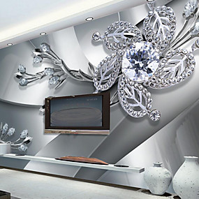 preiswerte Wand- & Ölbilder-Art Deco 3D Haus Dekoration Moderne Wandverkleidung, Segeltuch Stoff Klebstoff erforderlich Wandgemälde, Zimmerwandbespannung
