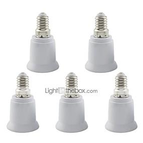 preiswerte 5% Rabatt-5 stücke e14 bis e27 basis led mais licht / scheinwerferlampe adapter halter lampensockel
