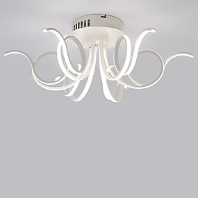 povoljno Lámpatestek-LightMyself™ 6-Light Flush Mount Downlight Silver Aluminij Mini Style, LED 110-120V / 220-240V Meleg fehér / Bijela Uključen je LED izvor svjetlosti / Integrirano LED svjetlo
