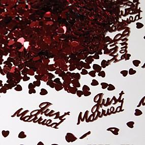 povoljno Darovi i pokloni za zabave-Latice, konfeti i ostalo Eko-friendly materijal Vjenčanje Dekoracije Vjenčanje / Angažman / Svadba Plaža Teme / Vrt Tema / Vegas Theme Proljeće / Ljeto / Jesen