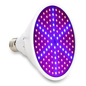 preiswerte LED Pflanzenlampe-15w e27 led wachsen lichter 126smd 90red und 36blue vollspektrum zimmerpflanze lampe für pflanzen vegs blume hydroponic system 85-265v