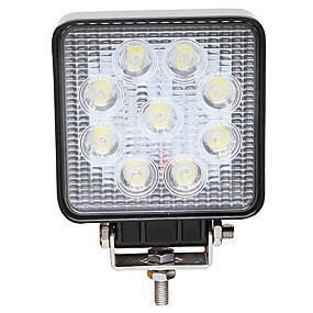 billige Spesialtilbud-JIAWEN 1 Deler Wire-tilkobling Bil Elpærer 27 W Høypresterende LED 9 LED Tåkelys Til Alle år