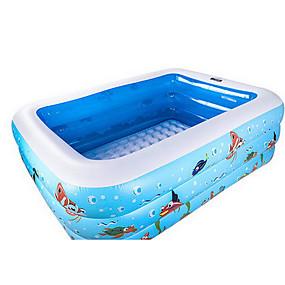 preiswerte Kiddie Pools-more care Bällebad Kinder-Planschbecken Planschbecken Aufblasbarer Pool Spaß Neuartige Extra Groß Spielzeuge Geschenk