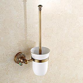 preiswerte Toilettenbürstenhalter-WC-Bürstenhalter Antike Messing 1 Stück - Hotelbad
