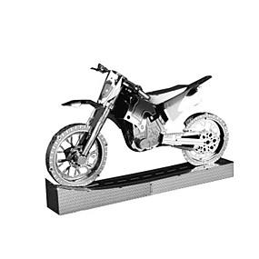 preiswerte 3D-Puzzles-3D - Puzzle Holzpuzzle Metallpuzzle Moto Berühmte Gebäude kompatibel Legoing Kreativ Cool Neuartige Glamourös & Dramatisch Chinesischer Stil Spezialmodell Motorräder Jungen Spielzeuge Geschenk