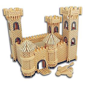 preiswerte 3D-Puzzles-Holzpuzzle Burg / Berühmte Gebäude / Chinesische Architektur Profi Level Hölzern 1pcs Geschenk