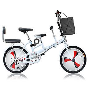 preiswerte Cycling Clearance-Falträder Radsport 3 Geschwindigkeit 20 Zoll Doppelte Scheibenbremsen Federgabel Monocoque - Rahmen gewöhnlich Aluminiumlegierung / Stahl / ja / #