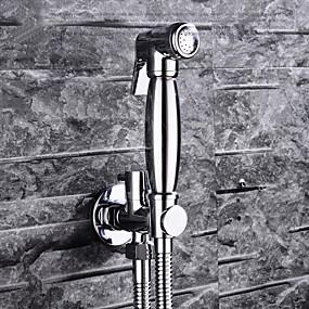 tanie Baterie i krany-ręczny chrometoilet washlet bidetowy opryskiwacz samooczyszczający vintage