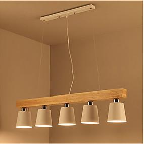 povoljno Viseća rasvjeta-5-Light Privjesak Svjetla Ambient Light - Mini Style, 110-120V / 220-240V Bulb not included / 15-20㎡ / E26 / E27