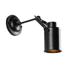 povoljno Lámpatestek-vintage black metal potkrovlje zidne svjetiljke dnevni boravak blagovaonica hodnik kafići barovi bar zidni ogrtač