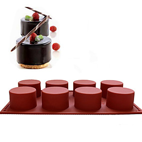 GN LC/_ BA/_ 3D SILICONE BAKING MOLD MOULD CUP CAKE MUFFIN JELLY DESSERT CHOCOLAT
