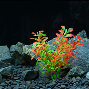 preiswerte Aquarium Deko & Kiesel-Aquarium Aquarium Dekoration Wasserpflanze Künstliche Pflanzen Künstlich Kunststoff