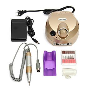 halpa Kynsisalonki-sähkökäyttöinen kynsipora 30000 rpm kynsipora kynsien kiillotuskone pro sähköinen kynsitaidetta porattava hiontalaite laite manikyyri pedikyyri kynsitiedosto kynsigeelityökaluille varastossa