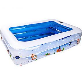 preiswerte Kiddie Pools-more care Bällebad Kinder-Planschbecken Planschbecken Aufblasbarer Pool Spaß Neuartige Spielzeuge Geschenk