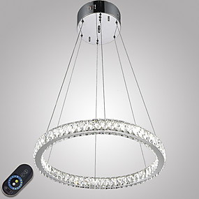 povoljno Viseća rasvjeta-Privjesak Svjetla Ambient Light Electroplated Metal Crystal, Zatamnjen, LED 110-120V / 220-240V Uključen je LED izvor svjetlosti / Integrirano LED svjetlo