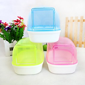 preiswerte Accessoires für Kleintiere-Chinchillas / Hamster Kunststoff Tragbar / Cosplay Reinigung Gelb / Blau / Rosa