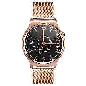 cheap Others-MK12 Smart Watch Bluetooth Fitness Tracker Support Notify/ Heart Rate Monitor/ NFC Sports Smartwatch Compatible Iphone/ Samsung/ Android Phones