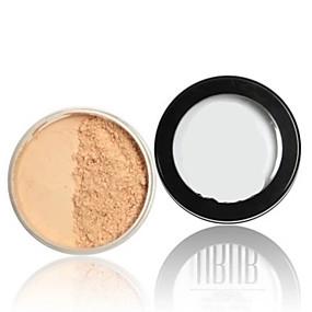 preiswerte Verschiedene gepresste Puder-Puder Trocken Abdeckung / Concealer / Natürlich Gesicht Bilden Kosmetikum