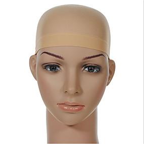 halpa Välineet ja tarvikkeet-Wig Accessories Nylon Peruukkiverkot / Peruukki hiusverkot Ultra Stretch Liner 1 pcs Päivittäin Klassinen Musta Paljas