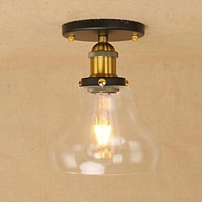 povoljno Stropna svjetla i ventilatori-Privjesak Svjetla Ambient Light Slikano završi Metal Glass Mini Style, LED, dizajneri 110-120V / 220-240V Bulb Included / E26 / E27