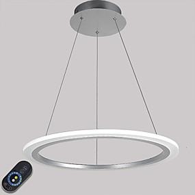 povoljno Viseća rasvjeta-Privjesak Svjetla Ambient Light Electroplated Metal Acrylic Zatamnjen, LED, Zatamnjen daljinskim upravljačem 110-120V / 220-240V Uključen je LED izvor svjetlosti / Integrirano LED svjetlo