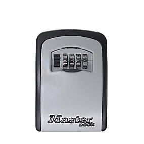 preiswerte Schutz & Sicherheit-Master Lock Schlüssel Tresor Outdoor Wandhalterung Kombination Passwortsperre Versteckte Schlüssel Aufbewahrungsbox Sicherheitssafes für das Home Office
