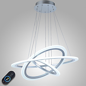 preiswerte Beleuchtung-Pendelleuchten Raumbeleuchtung Andere Metall Acryl Abblendbar, LED, Dimmbar mit Fernbedienung 110-120V / 220-240V