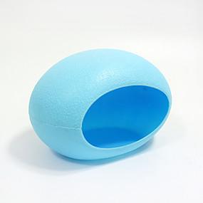 preiswerte Accessoires für Kleintiere-Chinchillas Hamster Kunststoff Tragbar Multi-Funktion Cosplay Betten Gelb Blau Rosa