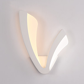 povoljno Kids Room-moderne 10w vodio zidne svjetiljke, jednostavnost stil akrilna rasvjeta dnevni boravak hodnik spavaća soba hotelske sobe noćna svjetiljka