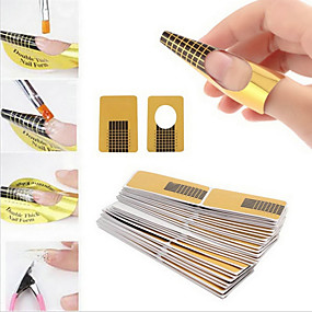 cheap Makeup and Beauty-100pcs Nail Art Tool Durable nail art Manicure Pedicure Simple / Classic Daily