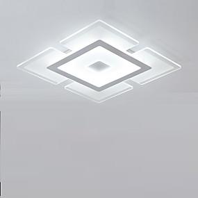 povoljno Moderna Rasvjeta-Flush Mount Ambient Light Others Acrylic Acrylic Zatamnjen, LED, Zatamnjen daljinskim upravljačem 90-240V Uključen je LED izvor svjetlosti / Integrirano LED svjetlo